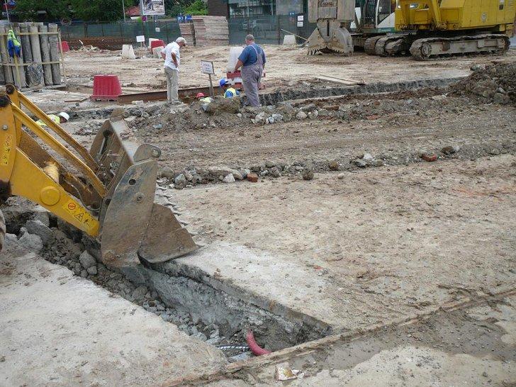 Economia pe tobogan: România, cea mai mare scădere din UE la construcții