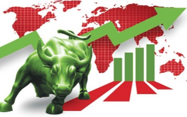 """""""Taurul"""" revine în forță pe Wall Street: Indicele Dow Jones, salt cu 500 puncte într-o zi"""