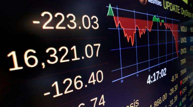 Roșu intens pe Wall-Street: indicii americani pierd tot ceea ce au câștigat în 2018