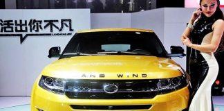 Cum arată Range Roverul falsificat din China, interzis de pe piață FOTO