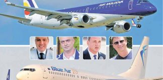 Air Moldova, recent privatizată cu mari suspiciuni, a suspendat cursele Chişinău-Bucureşti